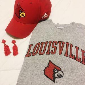 Louisville Cardinals Baseball Hat
